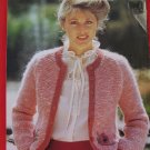 "Patons Lady's Jacket Sweater Vintage Knitting Patterns Ladies Sizes 32"" - 40"""