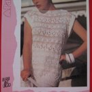 "Vintage Patons Lady's Teens Mixed Textures Sweater Knitting Pattern Ladies Sizes 30"" - 40"""