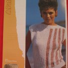 "Patons Lady's Teens Slash Neck Sweater Top Knitting Pattern Ladies Sizes 30"" - 38"""