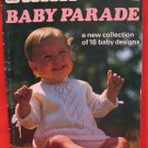 Patons Baby Parade 16 Vintage Knitting Patterns Jackets Coats Dress Shawl Bonnet etc
