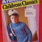 """Patons Classics 9 Knitting Patterns Childrens Sweaters Cardigans 24"""" - 38"""""""