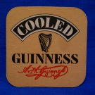 Cooled GUINNESS Beer Coaster Souvenir Vintage Collector Collectible Mat