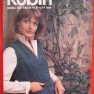 Robin Vintage Double Knitting Patterns Adults Sweater Vest Waistcoat