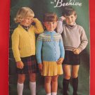 Patons Beehive Knitting Patterns Children Sizes 1 - 6 Years Pullovers Sweaters Cap Mitts Leggings