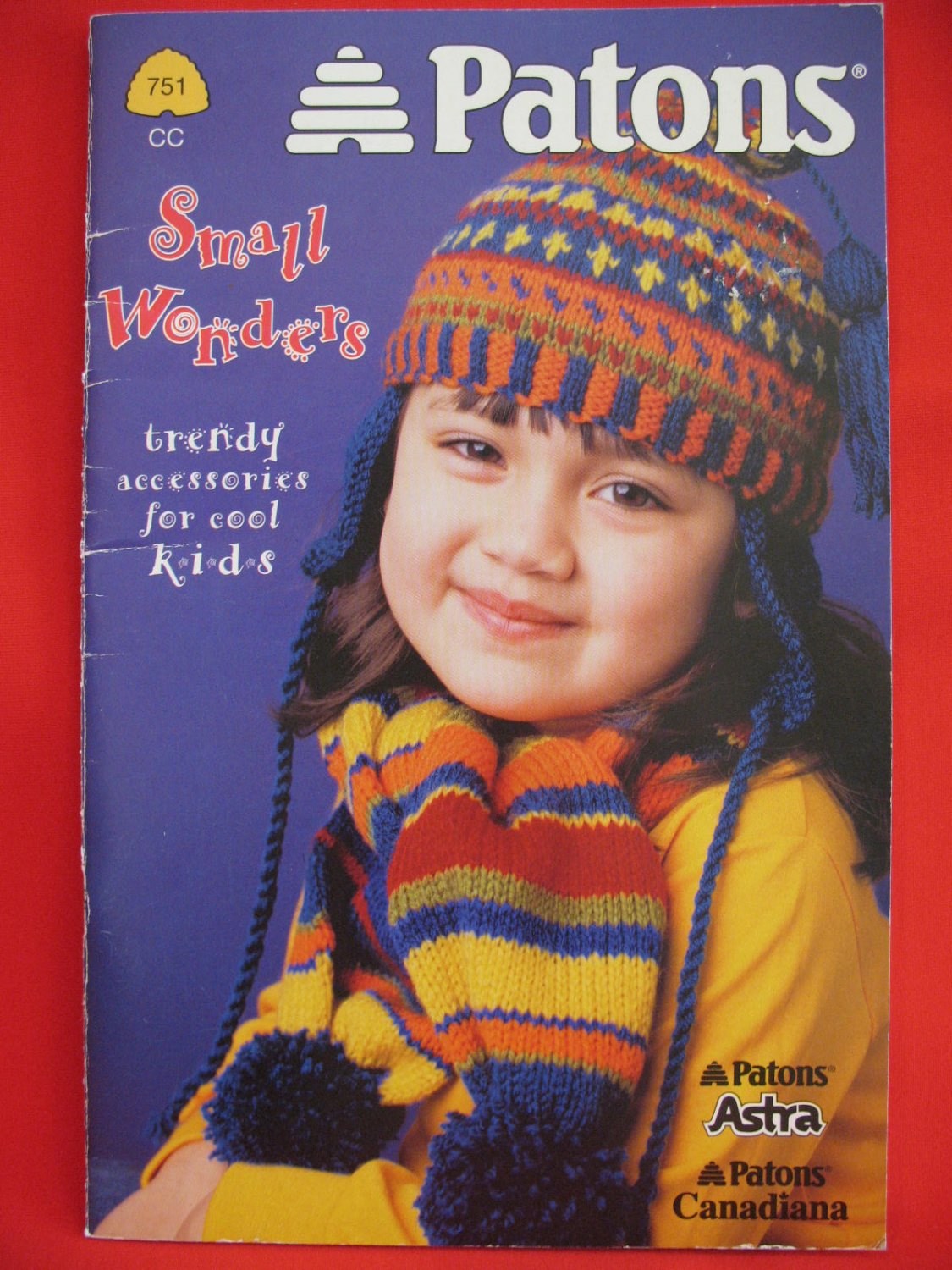 Patons Knitting Patterns Children Stocking Caps Scarves Helmets Berets Headbands Mitts