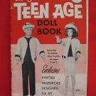 Mary Maxim Vintage Knitting Patterns Barbie Dolls Teenage Doll Book