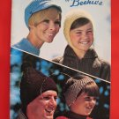 Patons Knitting Crocheting Patterns FAMILY Headwear Toques Caps Hats Bonnets Hoods