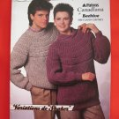 Patons Beehive Shetland Chunky Knitting Patterns ADULTS Sizes Cardigans Sweaters Pullovers Vest