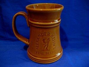 Alexander Keiths Beer Mug Glass Stein Canada Souvenir Collector