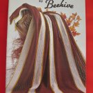 Patons Beehive Vintage AFGHANS Knitting Crocheting Patterns