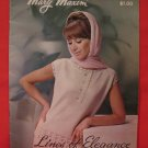 Vintage Mary Maxim Crochet Knitting Patterns LADIES Shells Cardigans Jackets Skirts Suits Sweaters