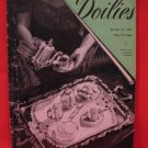Vintage 1944 Crochet Crocheted Patterns Magazine Doilies Doily