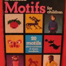Vintage Patons Motifs Knitting Patterns CHILDREN Animals Soldier Sailor Butterfly Skates etc