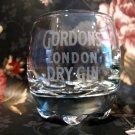 Gordons London Dry Gin Shot Glass Collectible Barware