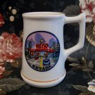 Reno Nevada Souvenir Shot Glass Collectible Old Vintage Cars Mini Cup Toothpick Holder
