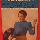 Vintage Monarch Hand Knits Knitting Patterns LADIES Dresses Coats Suits Sweater Pullover etc