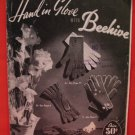 Vintage Beehive Hand Knit Knitting Patterns FAMILY Gloves Mitts Mittens