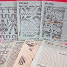 Vintage Passap Knitting Machine Journals Patterns Lot of 7 Magazines