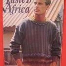 Taste of Africa Machine Knitting News Supplement Patterns ADULTS