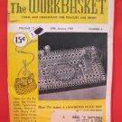 Vintage WORK BASKET Magazine Patterns January 1952