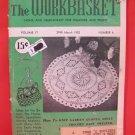 Vintage WORK BASKET Magazine Patterns March 1952