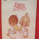 Vintage Precious Moments Cross Stitch Patterns Religious Christian God Jesus