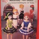 "Crochet Crocheting Patterns Barbie Dolls Sizes 15"" Saturday Nite"
