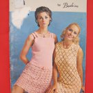 Vintage Retro Chic Crochet Crocheting Patterns FAMILY Skirt Suit Sweaters Dress etc