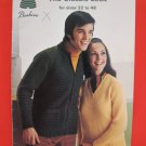 Patons Beehive Vintage Knitting Patterns ADULTS Sweaters Cardigans Pullovers Vests