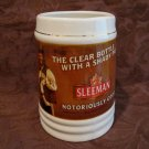SLEEMAN Beer Mug Glass Souvenir Collector Notoriously Good