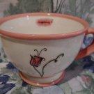 Starbucks Coffee Mug Tea Cup PINK FLOWER Inspiring 2006