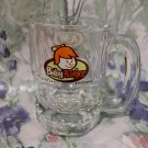 A&W ROOT BEER Mug BABY BURGER Canada SPECIAL EDITION Souvenir Glass CHILD Size