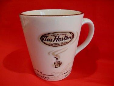 Tim Hortons Coffee Mug Cup Tea Cappuccino Mocha Cafe Moka Souvenir Number 5 Limited Edition
