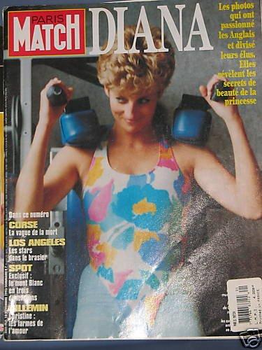 Princess Diana - Paris Match magazine Gym Scandal RARE