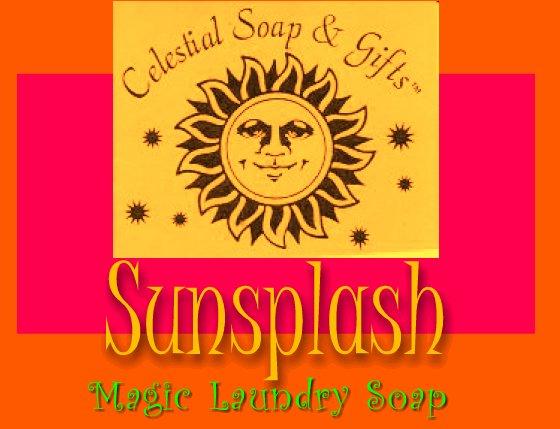 Sunsplash Natural VEGAN Laundry Soap Powder SAMPLE 6 oz. 5-10 LOADS