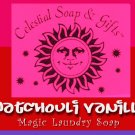 Patchouli Vanilla Natural VEGAN Laundry Soap Powder SAMPLE 6 oz. 5-10 LOADS