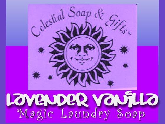 Lavender Vanilla Natural VEGAN Laundry Soap Powder SAMPLE 6 oz. 5-10 LOADS