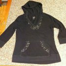Justice Girls Hooded Top with Sequins 10/12