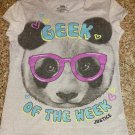 Justice Geek Girl Graphic T-Shirt Size 10/12