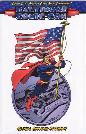 Baltimore Comic-Con 2002 Souvenir Program George Perez