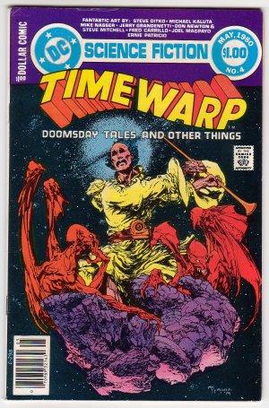Time Warp #4  VF- 1980 - Michael Kaluta Cover, Steve Ditko