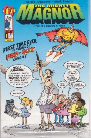The Mighty Magnor #1 NM 1993 - Sergio 'Groo' Aragones