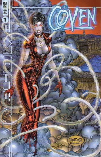 Coven #1 2nd Series NM 1999 - Rob Liefeld