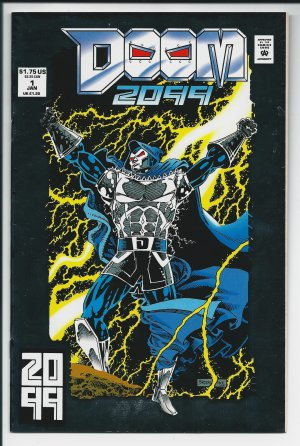 Doom 2099 Issue #1 - Pat Broderick Marvel Comics 1993