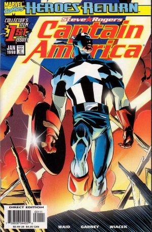 Captain America #1 Heroes Return  - Mark Waid Marvel Comics 1998