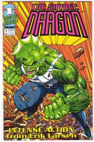 Savage Dragon Issue #1 - Erik Larsen Image Comics 1992