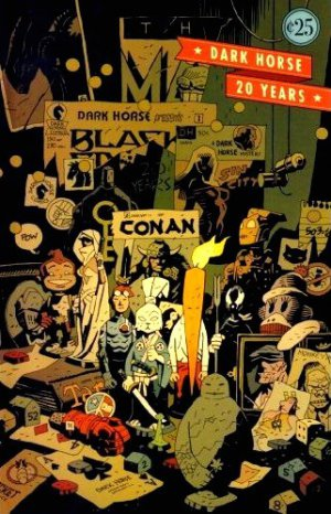 Dark Horse Comics Twenty Years Issue #1 - Adam Hughes Mike Mignola 2006