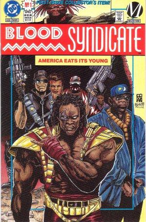 Blood Syndicate Issue #1 - Collector's Edition Trevor Von Eeden DC Milestone Comics 1993