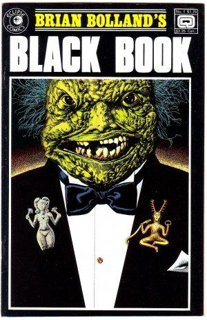 Brian Bolland Black Book Issue #1 - Eclipse Comics 1985 - VF