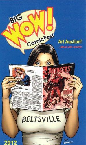 Big Wow Comicfest Comics Convention Program - Frank Cho 2012